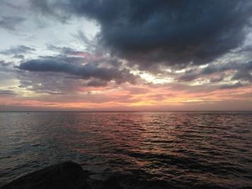 Sunset Blue Lagoon