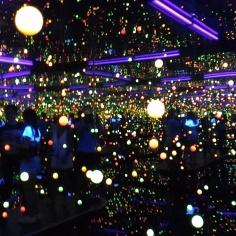 Expérience boules et lumières