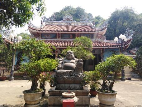 Buddha et son temple