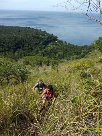 Old volcano walk