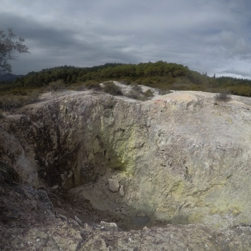 Cratère de soufre