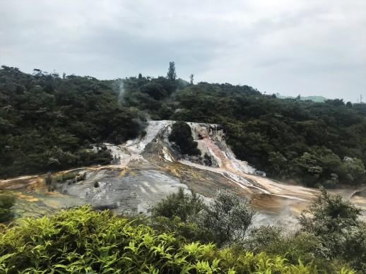 Cascade et geysers