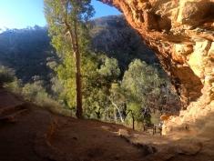L'antre de la grotte