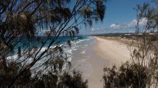 Et la plage surpeuplée....