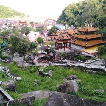 Muraille de Chine miniature