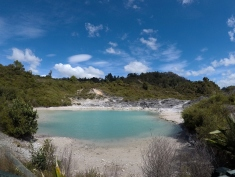 Lac turquoise