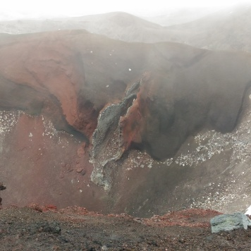 Le fameux red crater