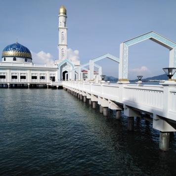 Mosquée flottante