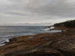La côte et son ressac
