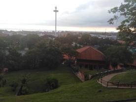 Vue de la colline St Paul